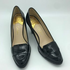 Cole Haan Nike Air Patent Leather Loafer Heels 9